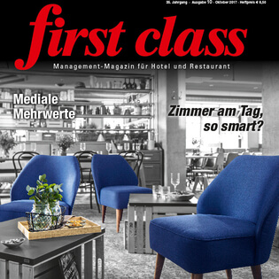 Interview mit Vorstand Josef Hock in der first class