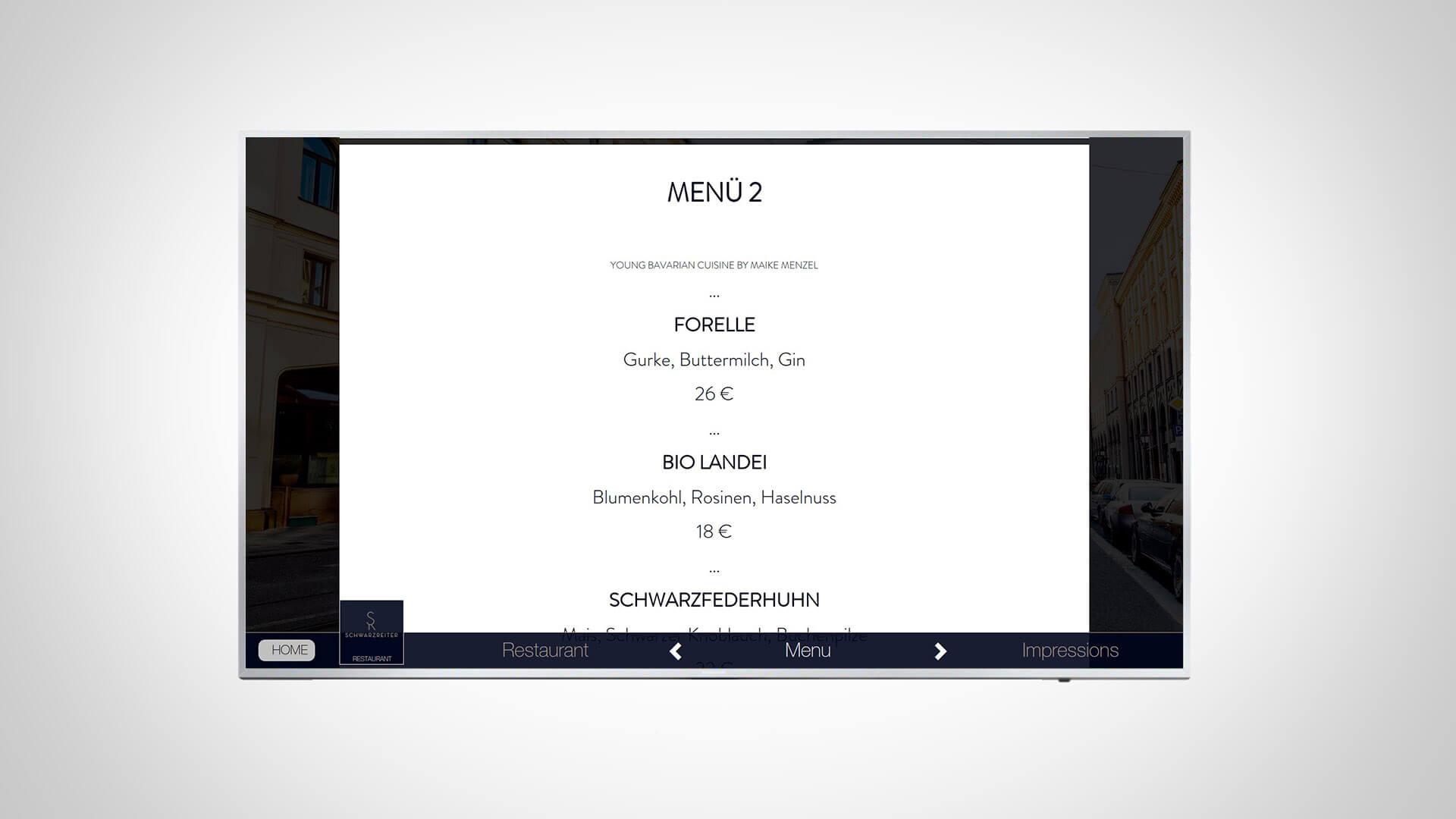 Multimediale Nachrichten zum Gast senden