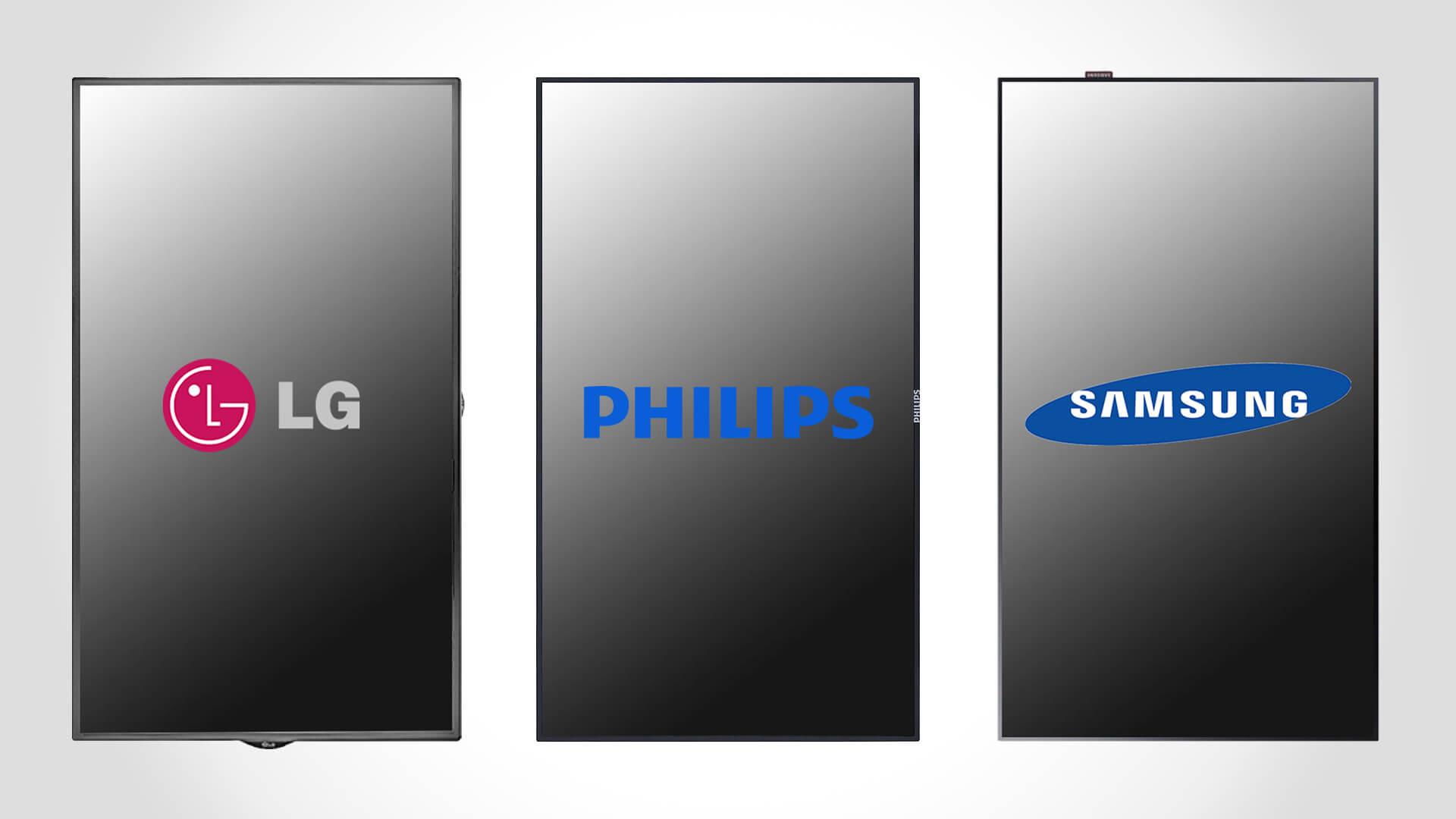 Hersteller von Smart Signage Bildschirmen